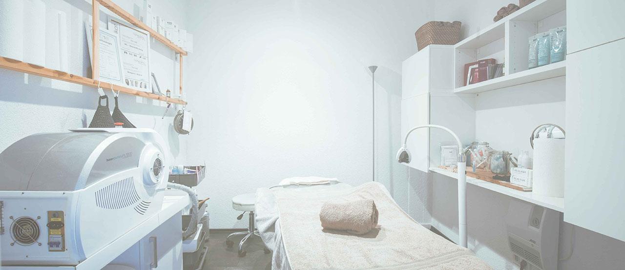 Kosmetikraum mit IPL Gerät